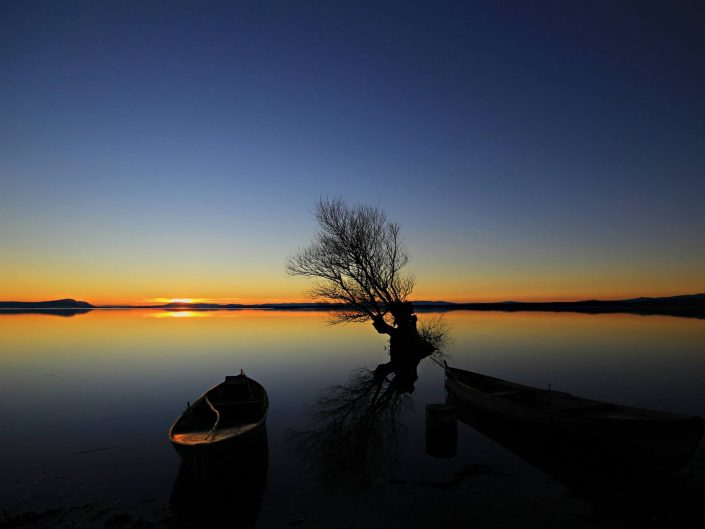Işıklı Gölü ve Muhteşem Akşamlar